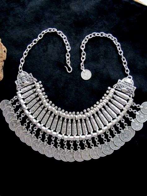 turkish jewelry spirited necklace with coins