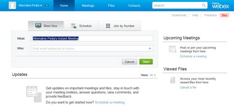 8 Webex Alternatives And Competitors Webex Scheduling Templates