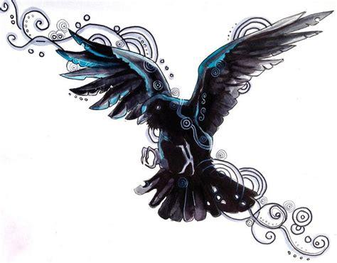 tattoo flash ravens raven tattoo design by lucky978 deviantart com on