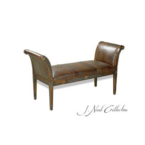 sleigh bench products ohio hardwood furniture