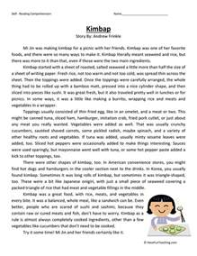 sixth grade reading comprehension worksheets have fun