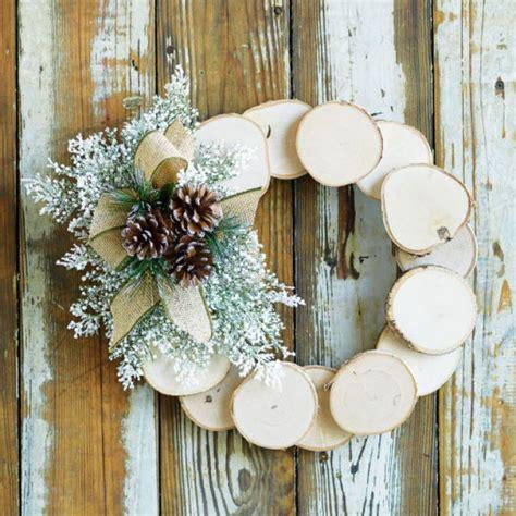 Birch Tree Paper For Crafts - diy birch slice wreath d 233 cor diy