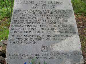 How Did Audie Murphy Died Hike The Appalachian Trail