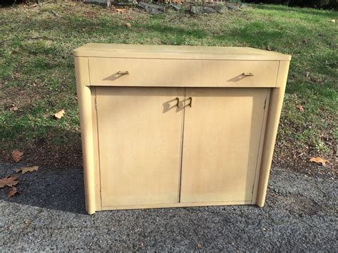 sideboard with full sized pull out table attainable vintage