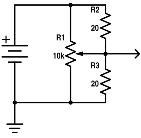 precision resistor is linear or nonlinear s curve using linear potentiometer without power drain electrical engineering stack exchange