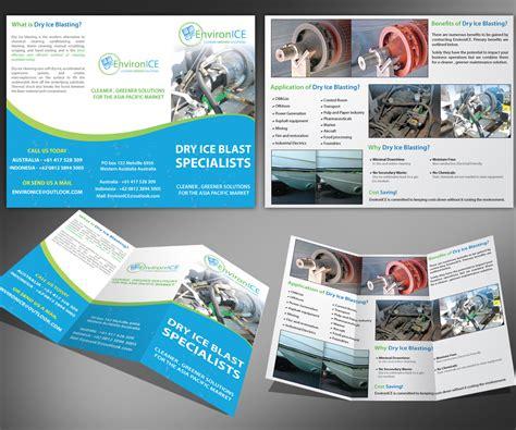 designcrowd brochure bold serious brochure design design for joel nankiville