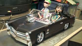 monster cleo car custom rod convertible aka bratz doll fm cruiser