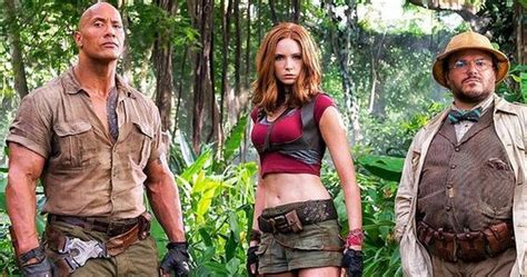 jumanji movie part 2 jumanji trailer to debut at cinemacon 2017
