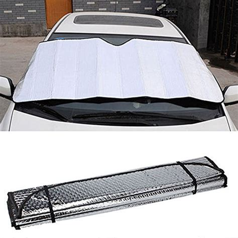 Sun Visor Aylaagya Ori 1pc 2 niceeshop tm front retractable car windshield sun shade heat shield keeps vehicle cool buy