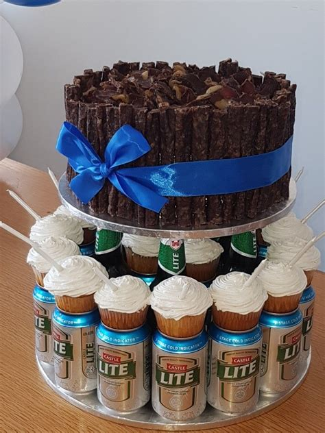 Biltong And Beer Cake Made This For  Ee  Boss Ee  S  Ee  Birthday Ee