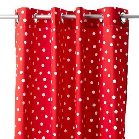 vorhang rot vorhang in rot punkte coming bei oli niki kaufen