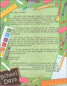 Parent Welcome Letter Parent Communication Live Laugh Learn Teach