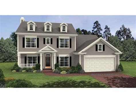 two colonial house plans 1000 ideas about colonial house exteriors on