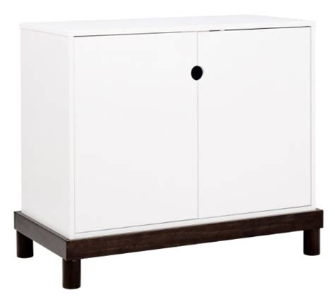 Baby Mod Changing Table White Baby Dresser Baby Mod 2 Door Changing Table In Espresso And White By Baby Mod