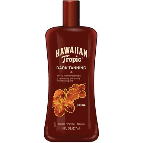tanning lotion for tanning beds amazon com hawaiian tropic sunscreen protective dark
