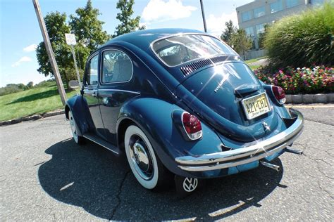 old blue volkswagen classic 1968 vw beetle volkswagen bug sedan for sale in vw