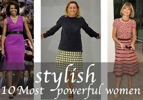 10 Most Fashionable by 10 Most Stylish Powerful 40