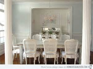 Chic Dining Rooms by 15 Pretty And Charming Shabby Chic Dining Rooms Home