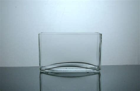 Glass Rectangle Vase by Psf385 Rectangle Glass Vase 3 Quot X 8 Quot X 5 Quot 12 P C Block
