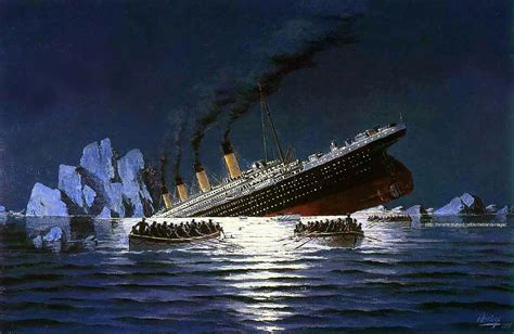 imagenes reales del titanic english quot the premonition of the titanic s sinking