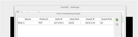 virtualbox forwarding virtualbox im nat modus via ssh vom host auf den guest