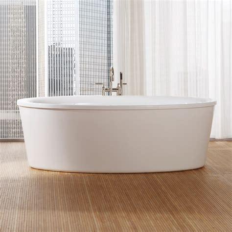 badewannen oval repabad vasa 190 f freistehende oval badewanne mit sch 252 rze