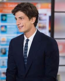 john kennedy schlossberg jfk s handsome only grandson gives his first tv interview
