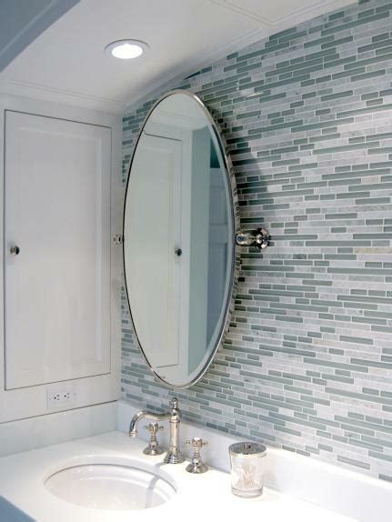 grey mosaic bathroom bathrooms blue gray linear glass mosaic tiles backsplash