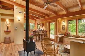 creating the not so big house jetson green not so big timber frame home in oregon