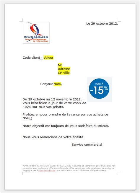 Type De Lettre Entreprise Exemple Lettre E Mailing