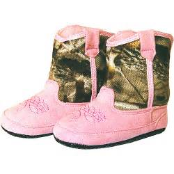 Team realtree baby cowboy boots pink shoes walmart com