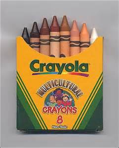 flesh colored crayon multicultural crayons eight skin colors in one box