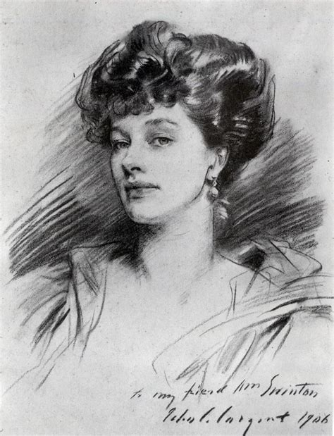 Portrait Drawers by Mrs George Swinton 1906 Singer Sargent Wikiart Org