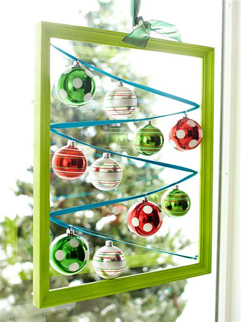 hanging ornaments in window ingenious decorating ideas for small spaces