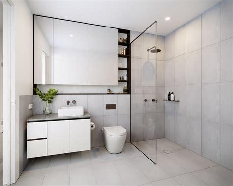 18 sleek modern bathroom designs you ll fall in with