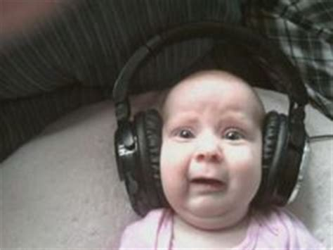 Baby Headphones Meme - 1000 images about musical memes on pinterest music