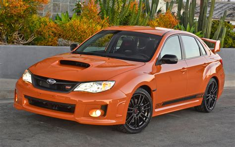 subaru orange 2013 subaru impreza wrx sti special edition first drive