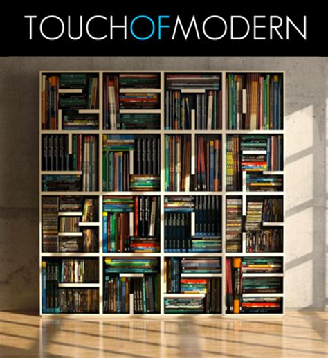 modern bookshelves for sale alphabet bookcase touch of modern flash sale site