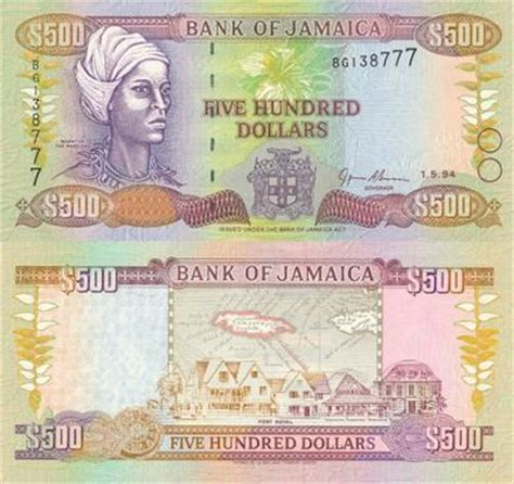 1000 images about today s jamaica bank notes in circulation today