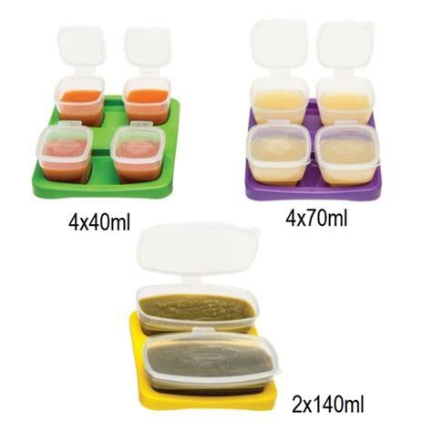 Wadah Mpasi Bayi Baby Cubes 70ml Isi 8pcs Aman Untuk Bayi 36 Baby Cubes Starter Kit Baby Food Storage Stackable Bpa Free