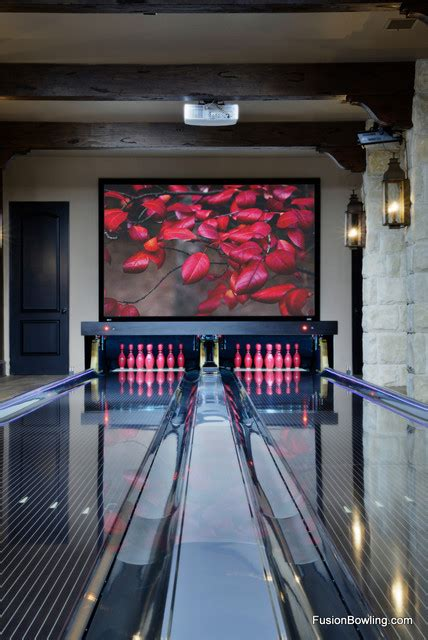 living room lanes bowling set bowling alley traditional family room dallas by fusion bowling