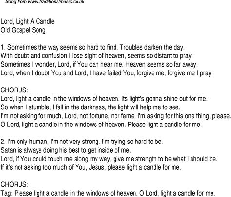 Send The Light Lyrics by Gospel And Christian Chords S Design Bild