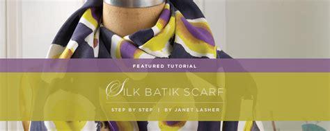 Tutorial Segiempat Batikascarf Original silk batik scarf tutorial