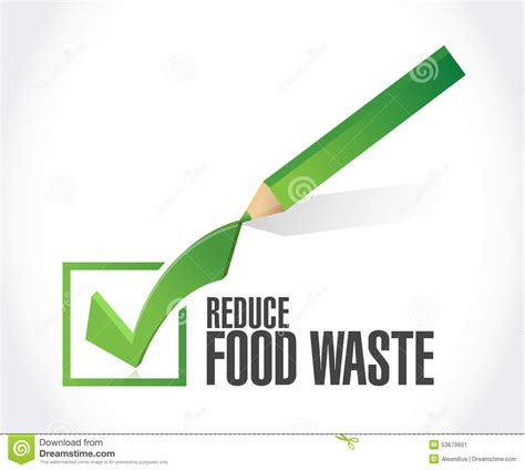 Free Background Check No Sign Up Reduce Food Waste Check Sign Concept Stock