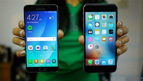 samsung galaxy note 5 vs iphone 6s plus
