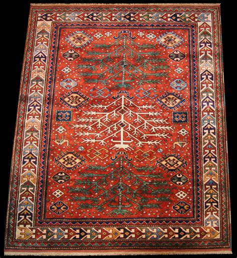 tree of rug caucasian kazak tree of rug