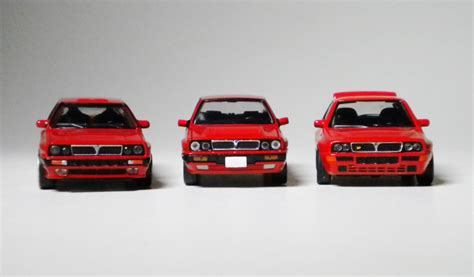1 64 Kyosho Fiat Lanica Minicar Collection Fiat Coupe Yellow Die Cast kyosho tomica lancia delta