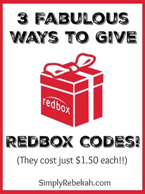 Where Can You Purchase Redbox Gift Cards - can you buy a redbox gift card