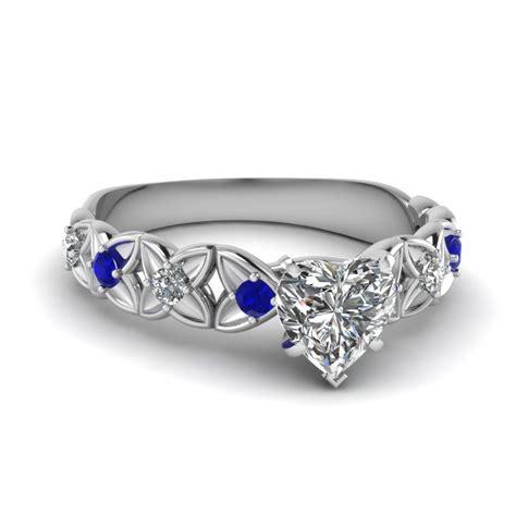 gemstone engagement ring fascinating diamonds