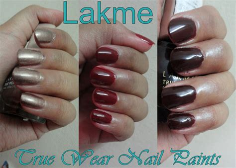 Salon Vanity Pa Lakme True Wear Nail Polish Review Nail Ftempo